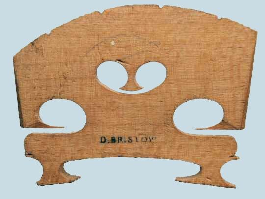 d bristow – violin