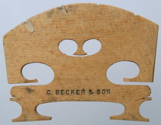 c becker & son – viola