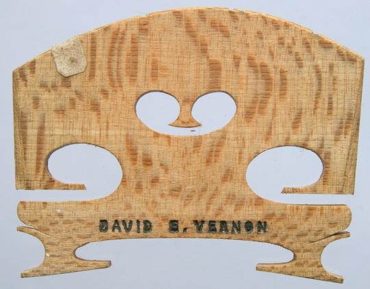 david e vernon – viola