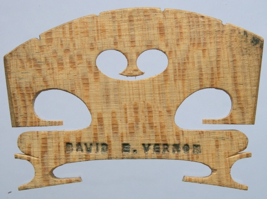 david e vernon – violin
