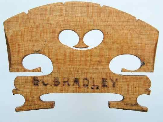 g j bradley – violin