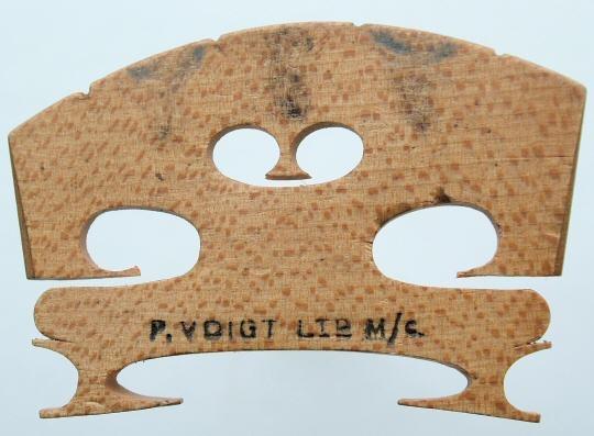 p voigt ltd m/c – violin