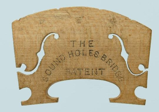 the sound hole bridge patent – violin