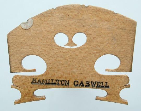 hamilton caswell – violin