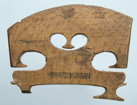 howard morgan violin