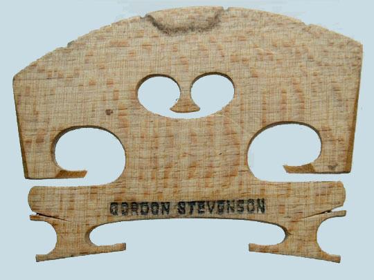 gordon stevenson – violin
