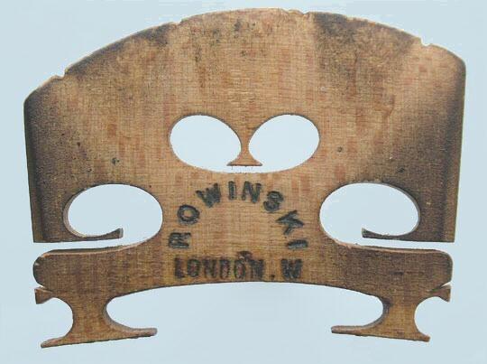 rowinski london w – violin