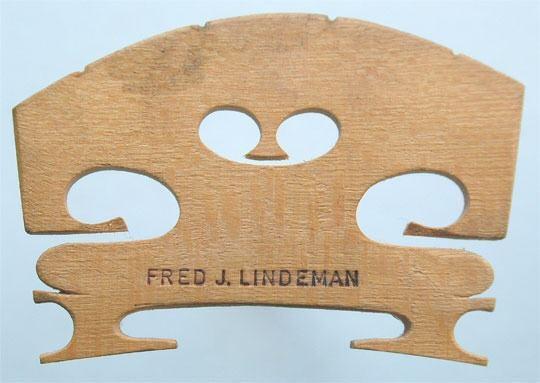 fred j lindeman – violin