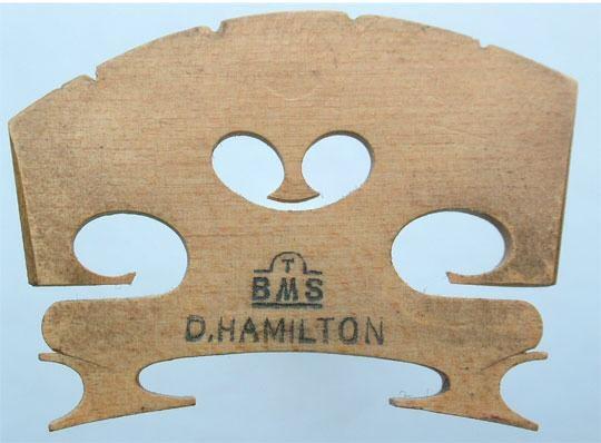 tbms d hamilton – violin