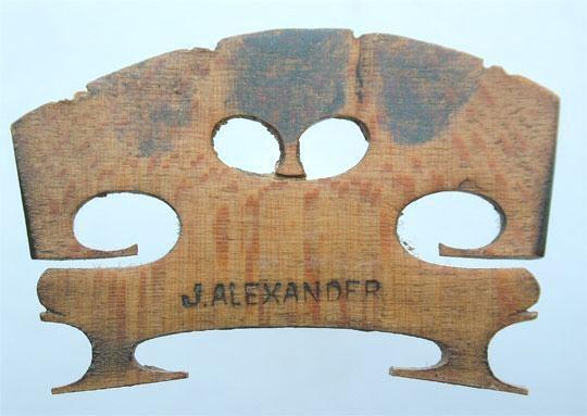 j alexander – violin