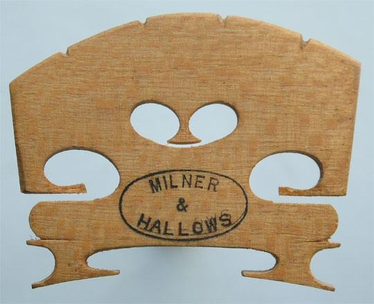 milner & hallows – violin