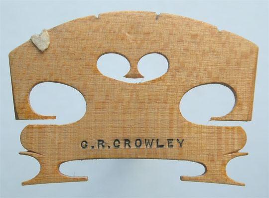 c r crowley – violin