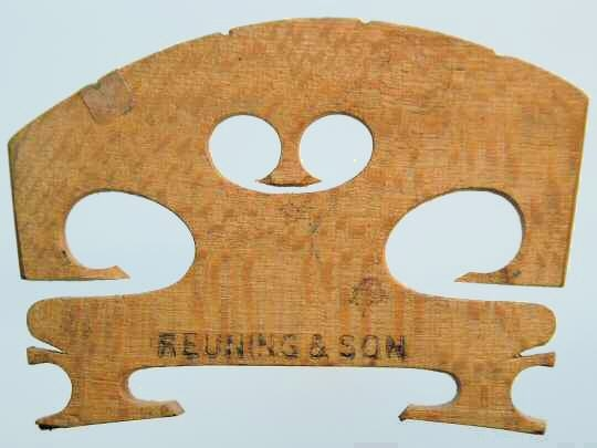 reuning & son violin