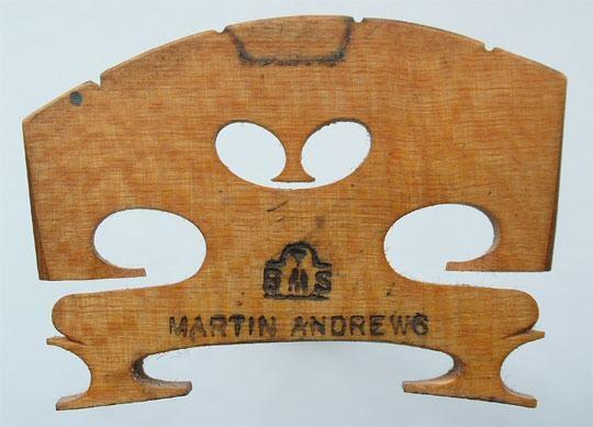 t b m s martin andrews – violin