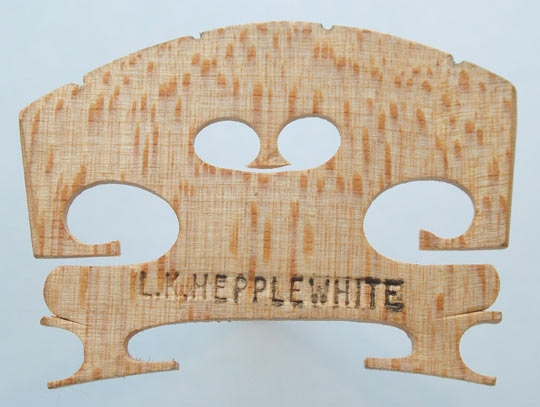 l k hepplewhite – violin
