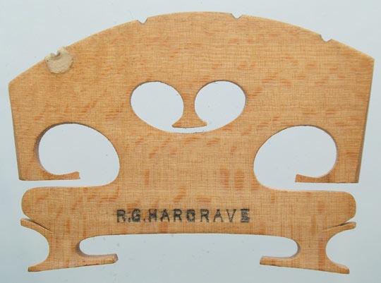 r g hargrave – violin