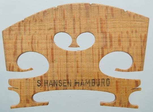 s hansen hamburg – violin
