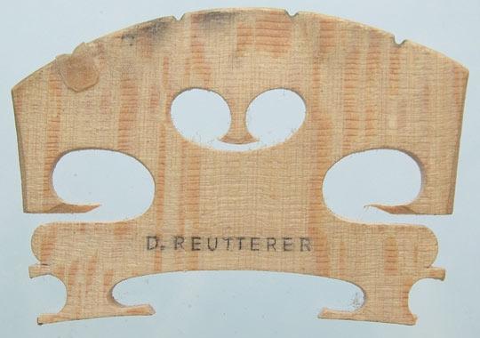 d reutterer – violin