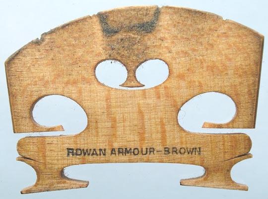 rowan armour brown – violin