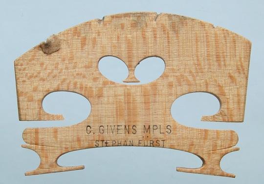 c givens mpls stephan furst – violin