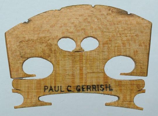 paul c gerrish – violin