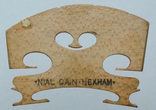 nail cain hexham – violin