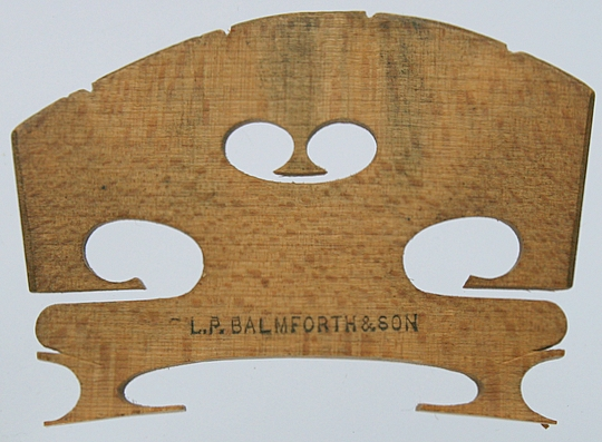 l p balmforth & son – violin