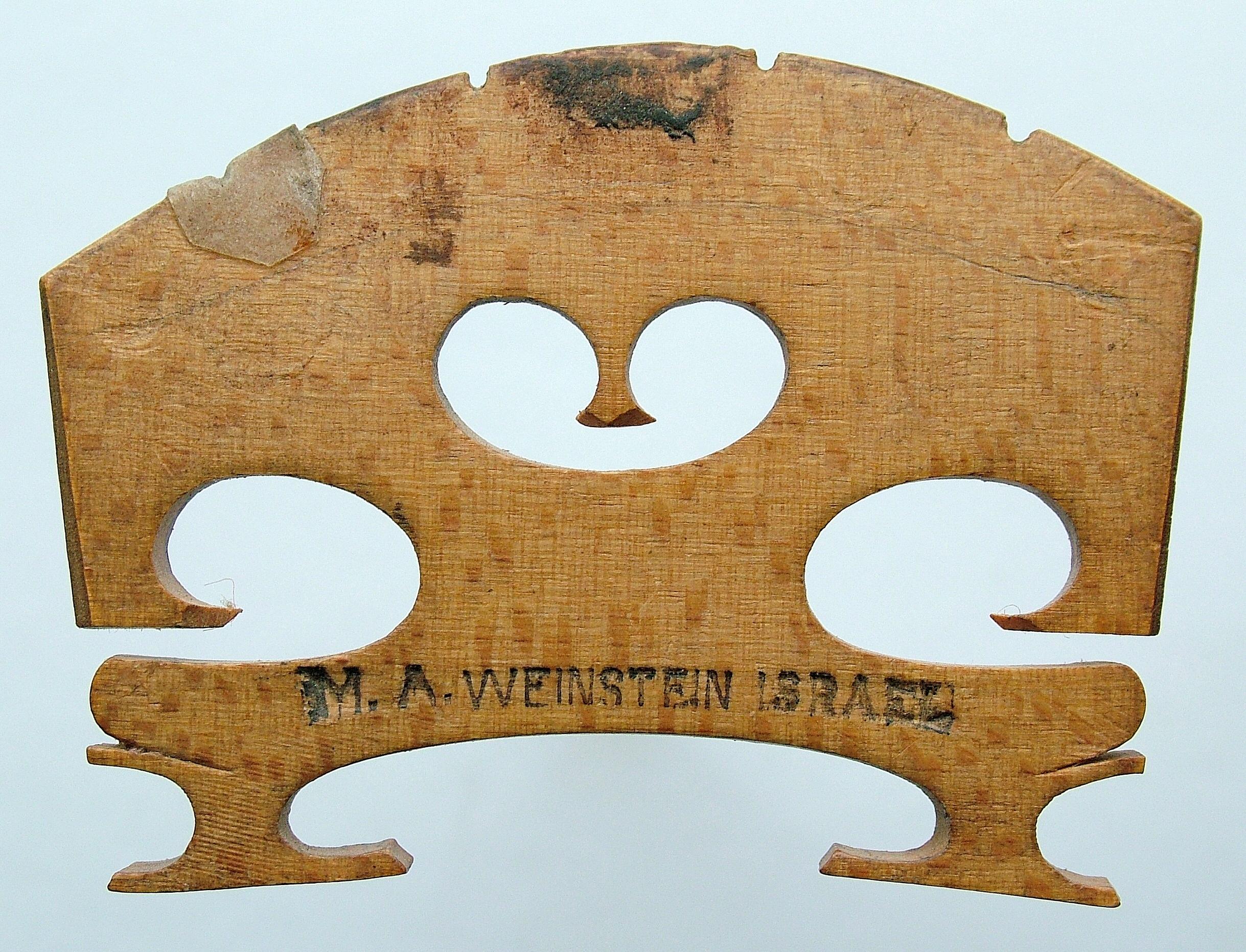 m a weinstein israel – viola