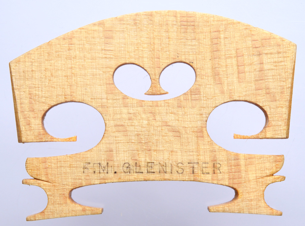 F M GLENISTER – violin